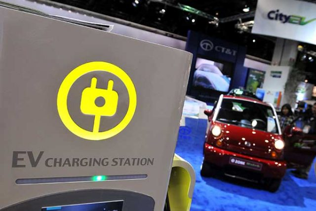 Elektrikli Araba Şarj İstasyonları