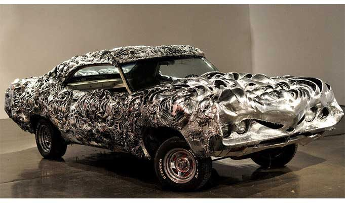 1971 Model Ford Torino 3D Print