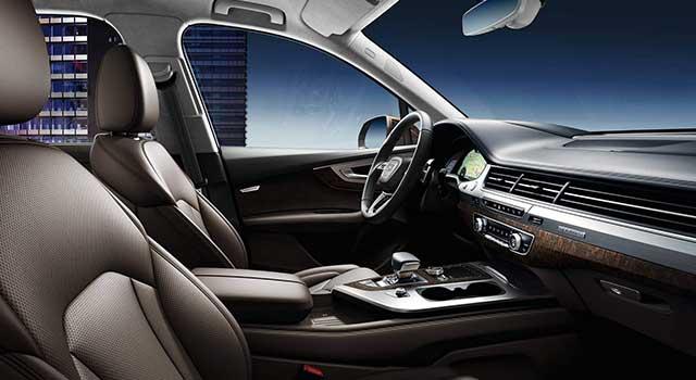 Audi Q7 E-Tron İç Dizayn