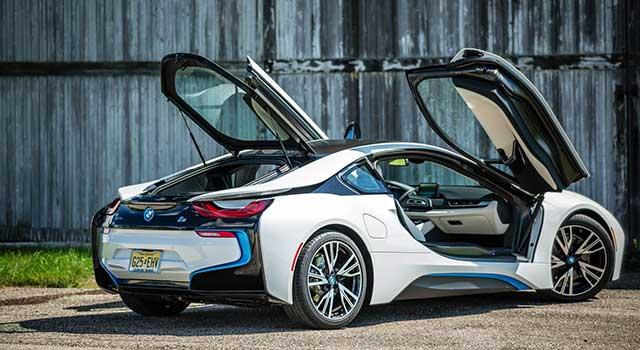 BMW i8 İç Dizayn