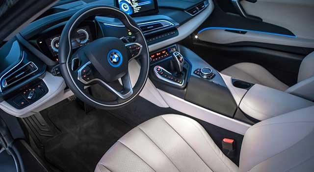 BMW i8 Özellikler İç Dizayn