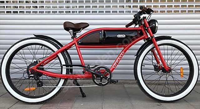 Citycoco Kırmızı Bisiklet