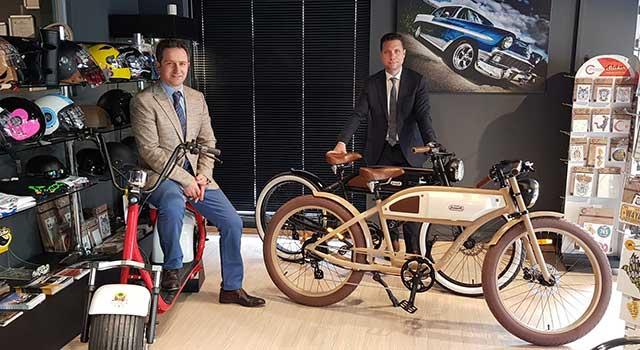 Elektrikli Bisiklet Citycoco Model