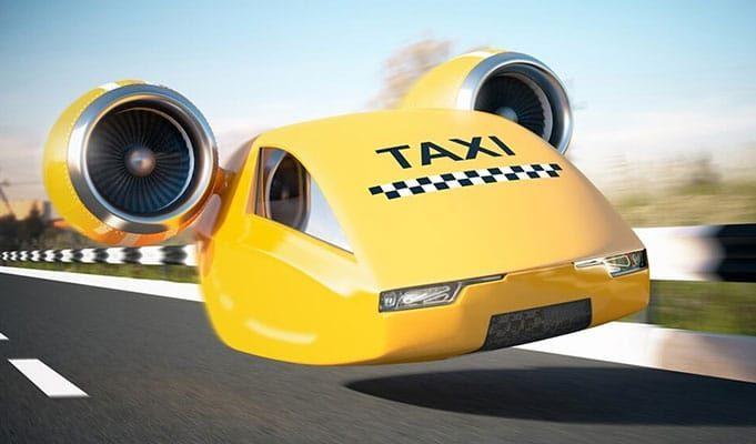 Elektrikli Uçan Araba Modelleri