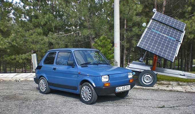 En Ucuz Elektrikli Araba: Fiat 126 E-Bis