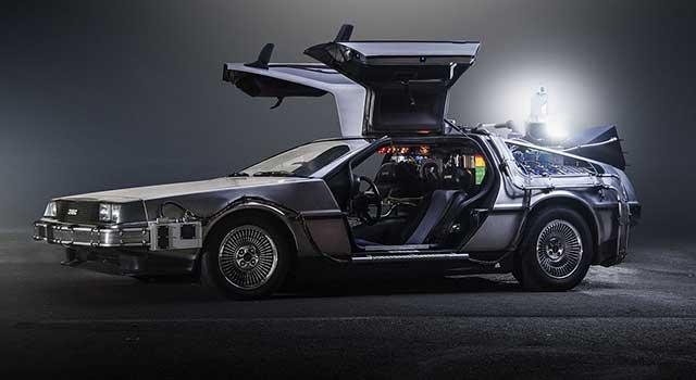 Geleceğe Dönüs Hidrojenli Araba