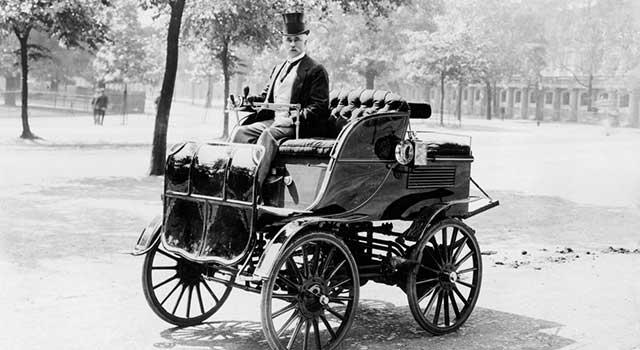 İlk Elektrikli Araba 1884 Thomas Parker
