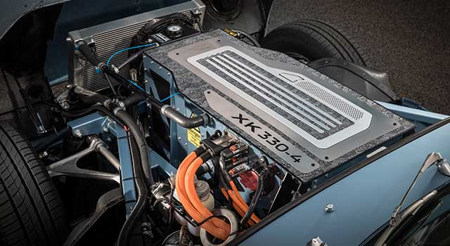 Jaguar Klasik E-Type Motor