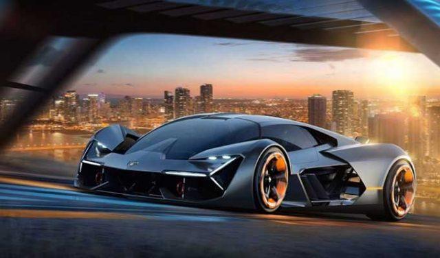 Lamborghini Elektrikli Araba