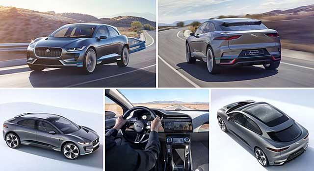 Land Rover Jaguar I-PACE FE 2018