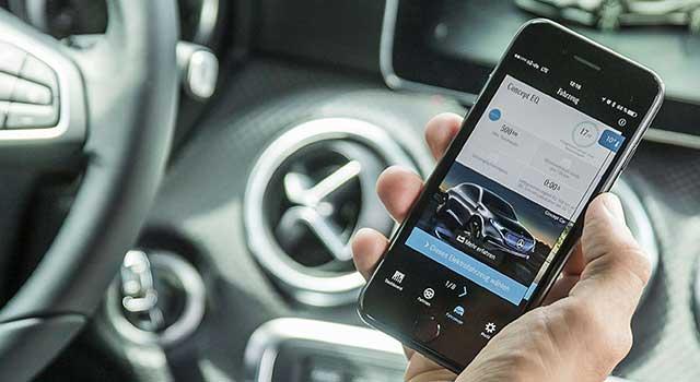 Mercedes EQ App