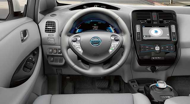 Nissan Leaf İç Dizayn