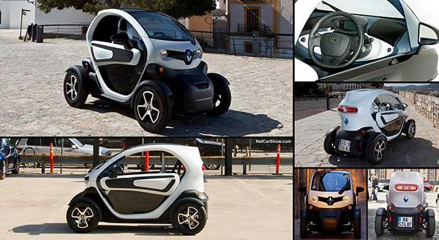 Renault Twizy Özellikler