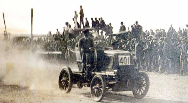 Tarihteki İlk Elektrikli Araba Yarışları