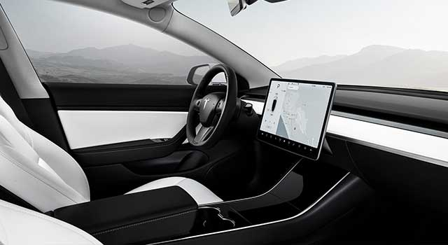 Tesla Model 3 İç Dizayn