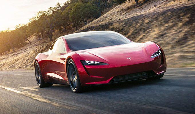 Tesla Model Roadster Elektrikli Araba