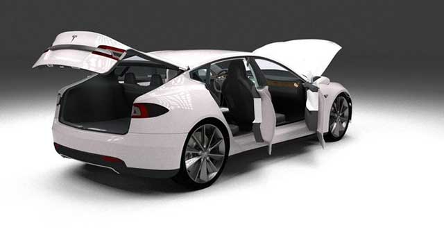 Tesla Model S Elektrikli Araba