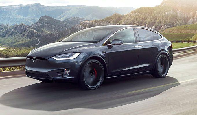 Tesla Model X SUV Elektrikli Araba