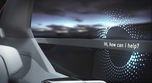 Volvo 360c Konsept Sesli Komut