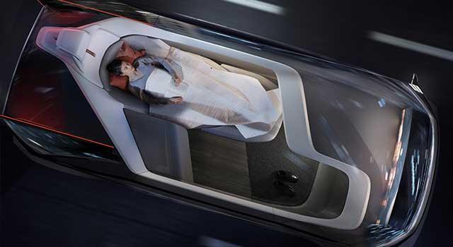 Volvo 360c Konsept Yatak
