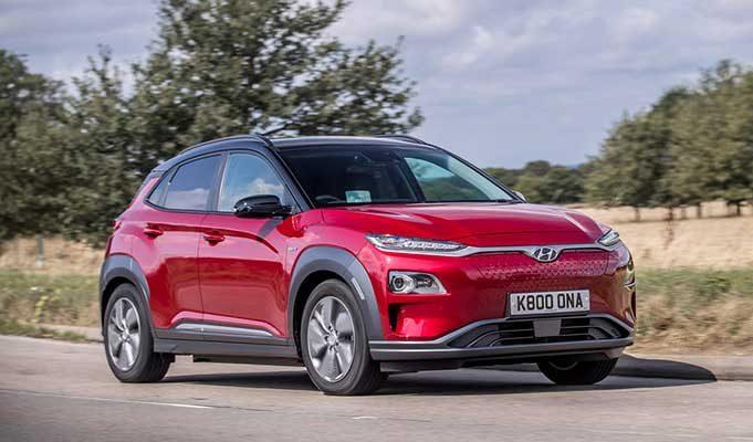 Hyundai Kona 64 kWh Premium SE 2018