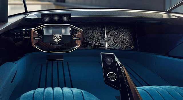 Peugeot e-Legend İç Dizayn