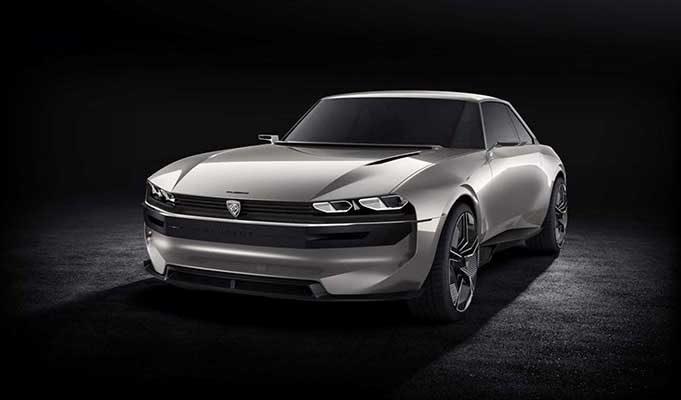 Peugeotdan Harika Bir Elektrikli Spor Araba Modeli E Legend Yeni