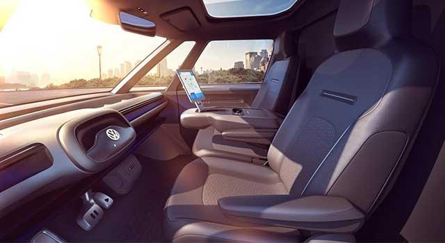 Volkswagen ID Buzz Cargo İç Dizayn