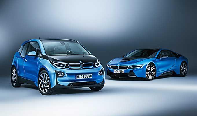 BMW Elektrikli Araba Modelleri