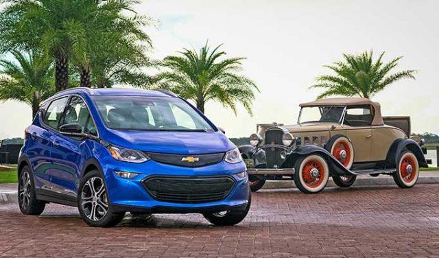 Chevrolet Elektrikli Araba Modelleri
