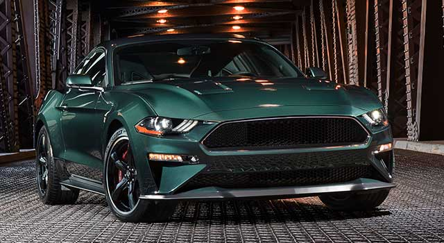 Ford Mustang Elektrikli