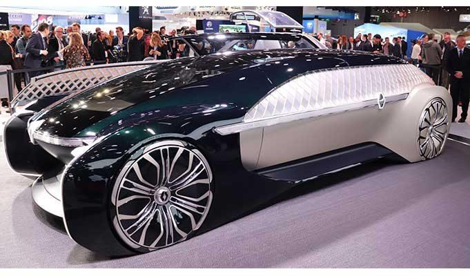 İşte Paris Motor Show'daki En İlginç Elektrikli Arabalar