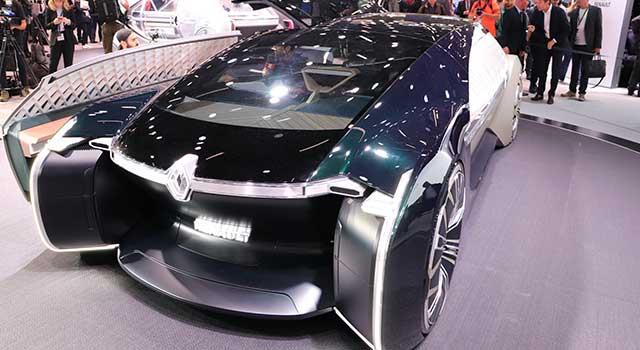 Renault EZ-ULTIMO Elektrikli Paris Show
