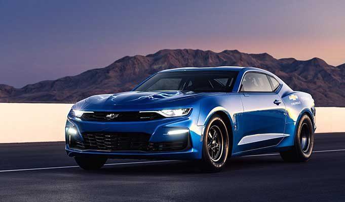 Chevrolet Camaro, Elektrikli Drag Yarışlarının Geleceği