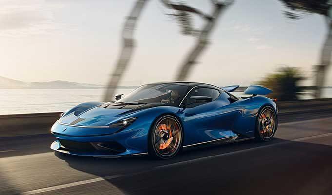 En Hızlı 10 Elektrikli Araba