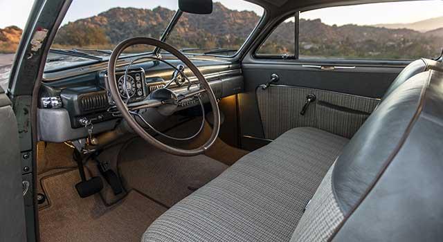 1949 Model Mercury EV Coupe İç Dizayn