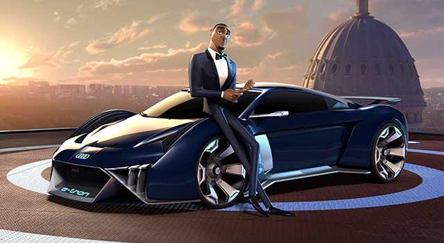 Audi RSQ eTron Ajanlar İş Başında Will Smith