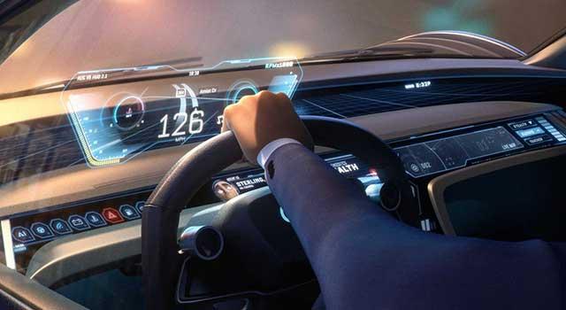 Audi RSQ eTron Ajanlar İş Başında