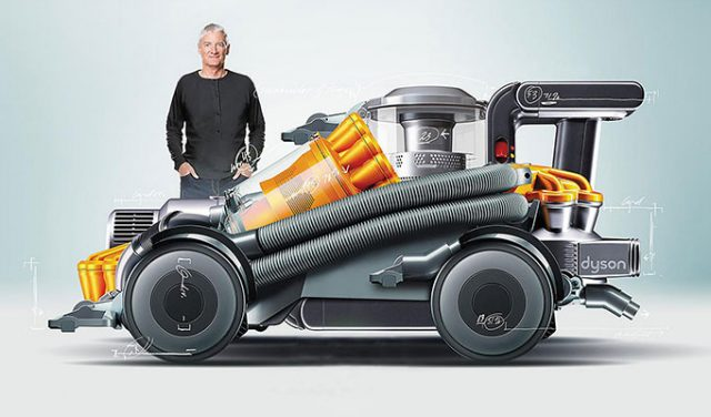 Elektrikli Süpürge, Saç Kurutma Makinesi ve Hava Temizleyiciden Elektrikli Arabaya: Dyson