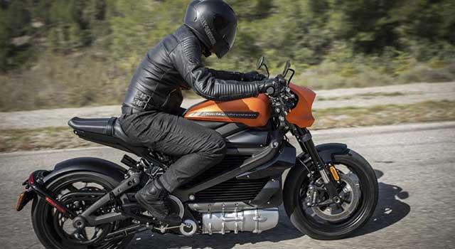 Harley Davidson Elektrikli Motor