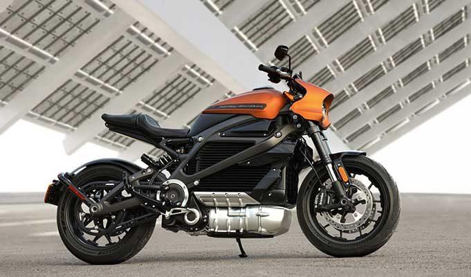 Harley Davidson LiveWire Elektrikli Motorsiklet