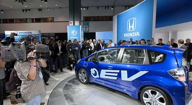 Honda Fit Elektrikli Tanıtım 2010