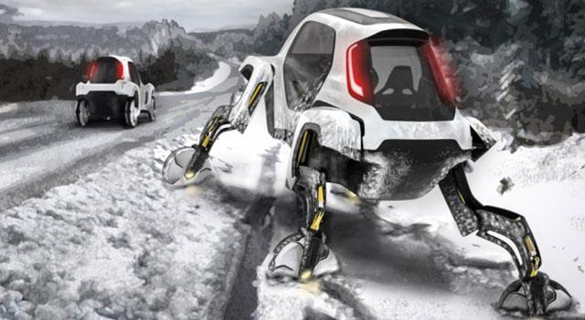 Hyundai Elevate Yürüyen Araba