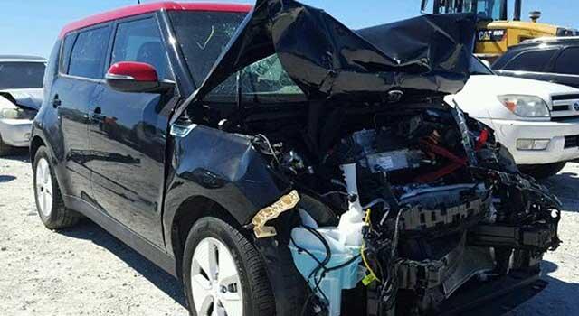 Kia Soul EV Kaza Yangın
