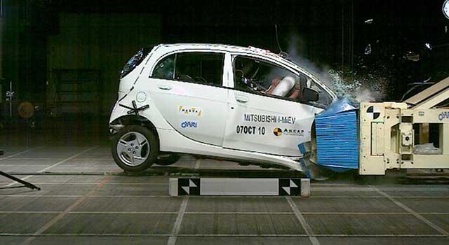 Mitsubishi i-Miev Kaza Yangın