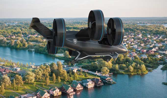 Bell Hibrit Elektrikli Uçan Araba, Uber Aracılığıyla 2020 Yılı Ortalarında Piyasaya Sürülecek