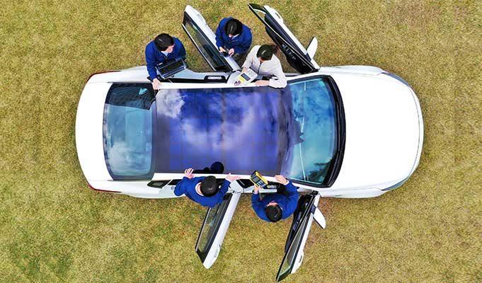 Hyundai ve Kia Elektrikli Araba Modelleri Güneş Panellerine Sahip Olacak
