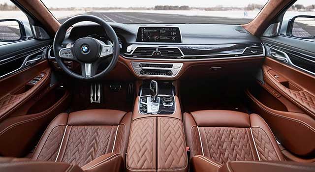 BMW 740Ld İç Dizayn