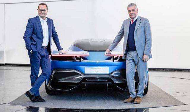 Pininfarina Üretimi Elektrikli Hiper Araba
