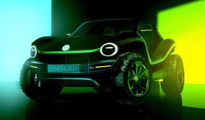Volkswagen'in İkonik Buggy Modeli Elektrikli VW ID Buggy Olarak Geri Geliyor